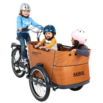 Babboe E-Curve ladcykel