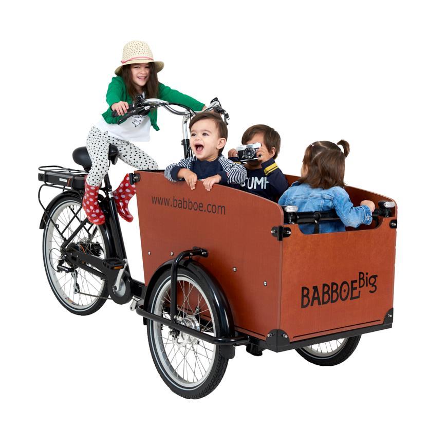 babboe e classic e big el ladcykel. Black Bedroom Furniture Sets. Home Design Ideas